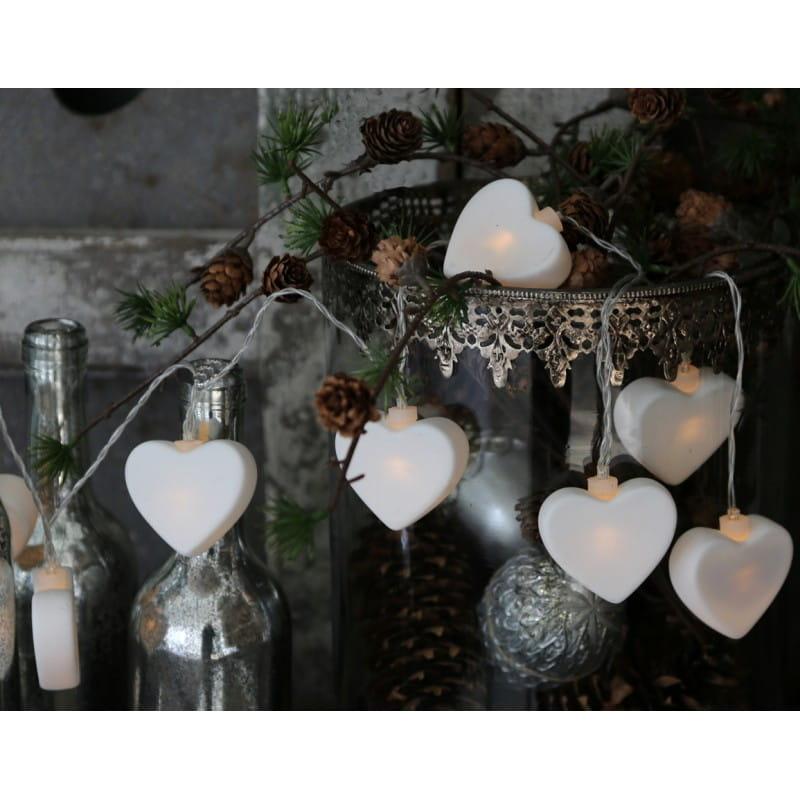 Lampki Choinkowe Serca 22