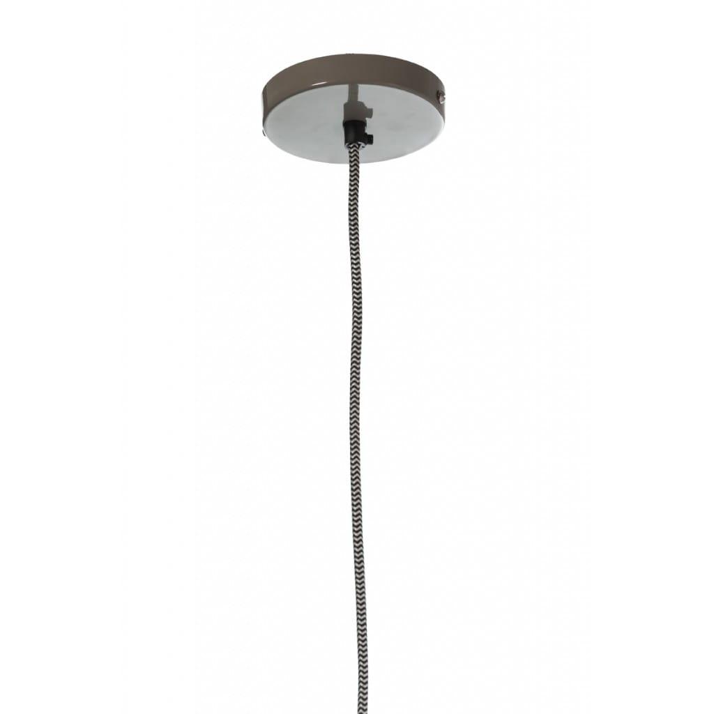 Lampa wisząca NUNO-Gray ALURO wysokość 17 cm 26