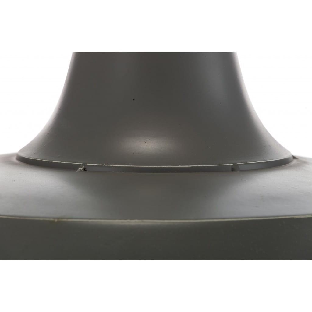 Lampa wisząca ALURO LOGAN szara wysokość 25 cm 24