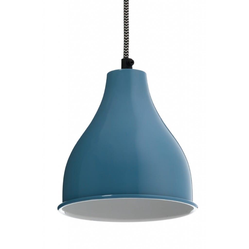 Lampa wisząca NUNO-Blue ALURO wysokość 17 cm 26