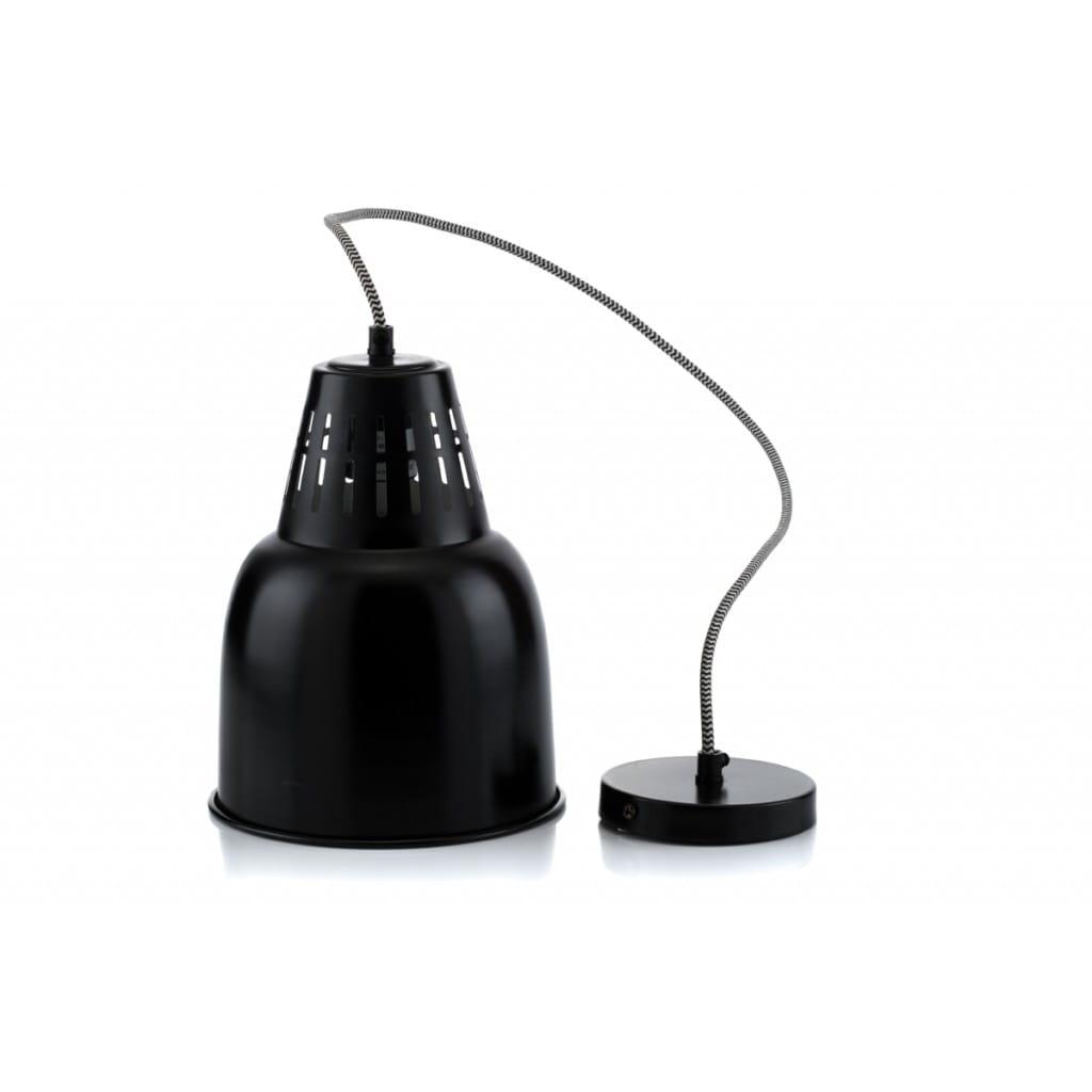 Lampa wisząca NUNO-Black ALURO wysokość 24 cm 22