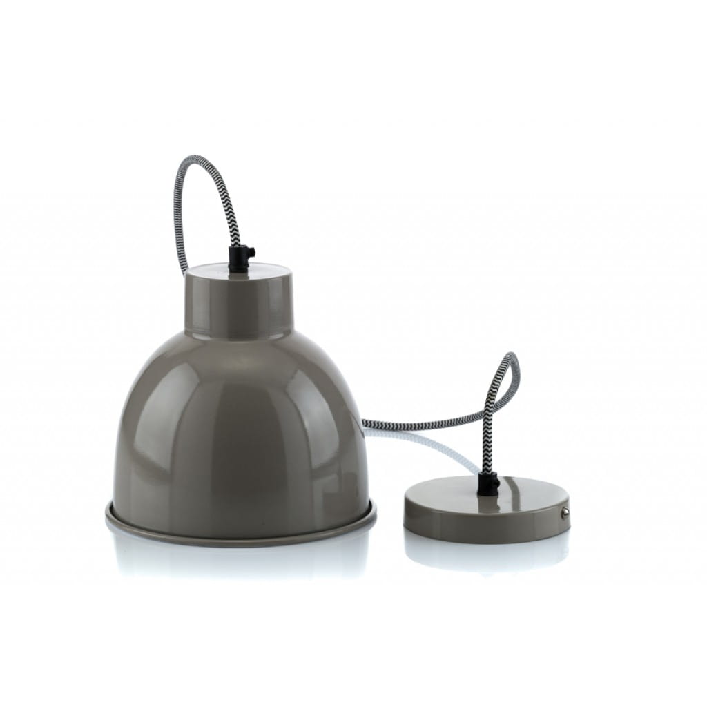 Lampa wisząca NUNO-Gray ALURO wysokość 17 cm 22