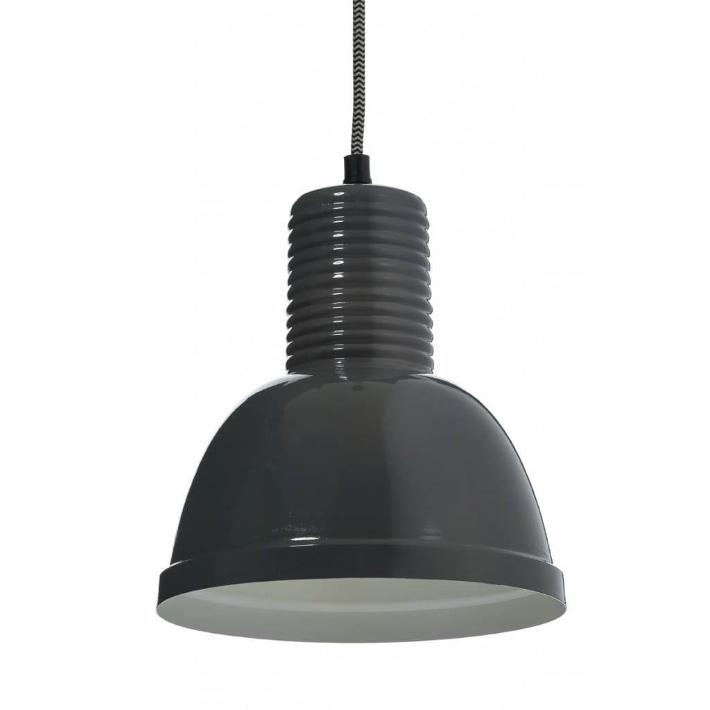 Lampa wisząca NUNO-Graphite ALURO wysokość 22 cm 25