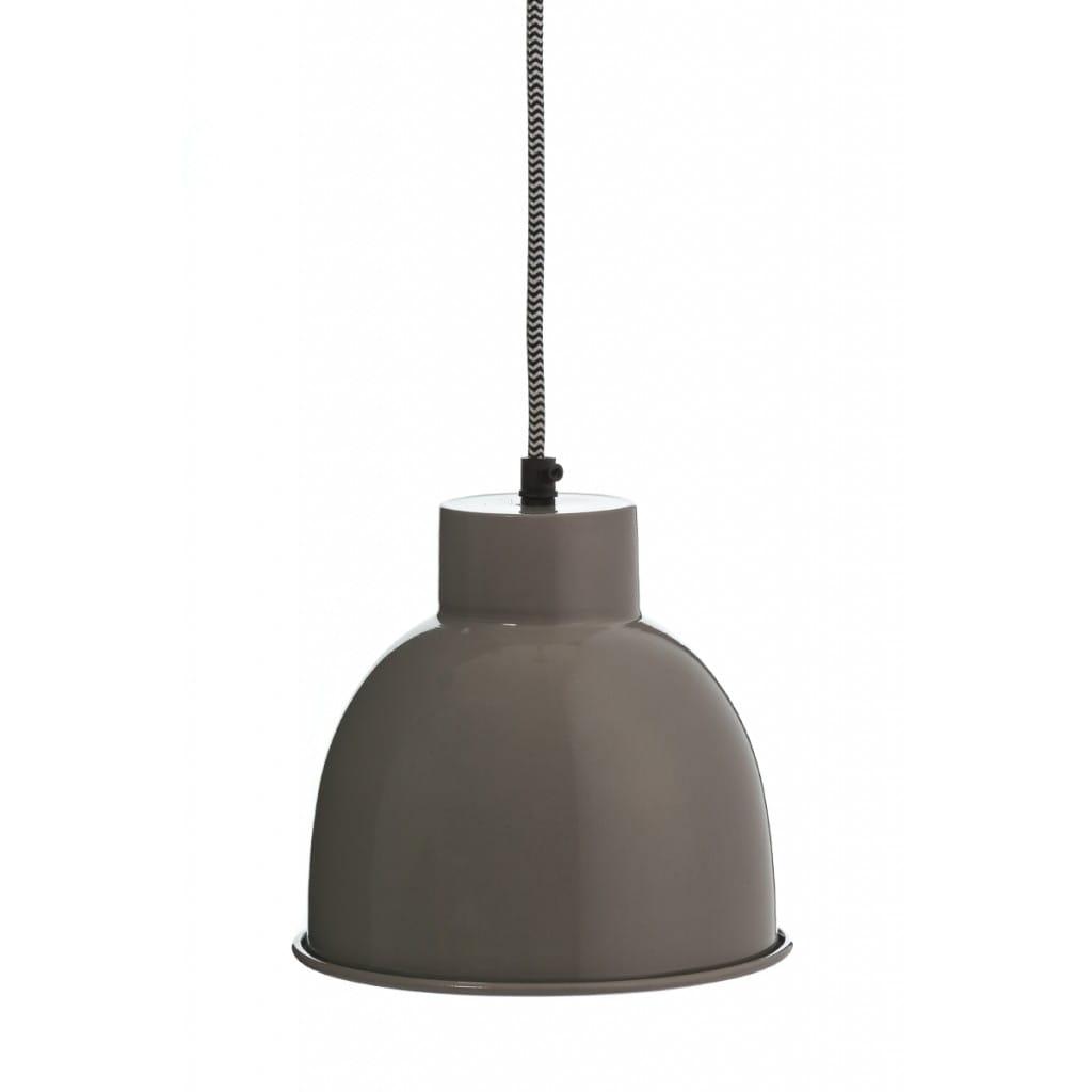 Lampa wisząca NUNO-Gray ALURO wysokość 17 cm 24