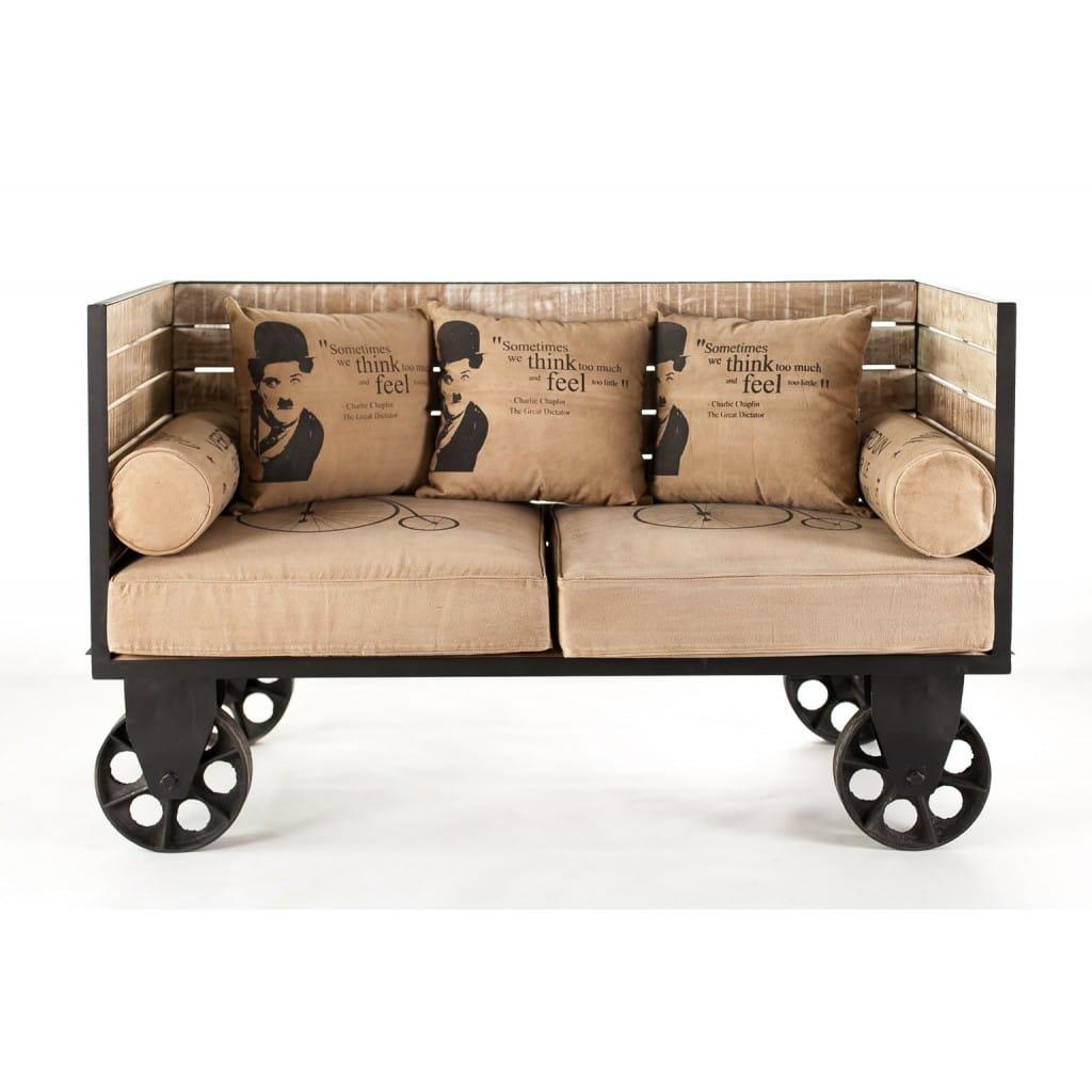 Sofa Charlie Chaplin ALURO MAZINE 22