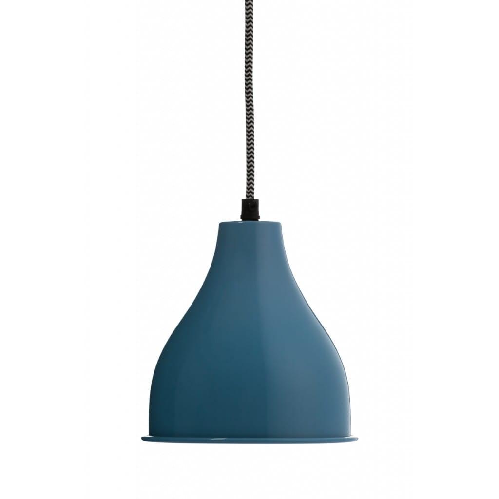 Lampa wisząca NUNO-Blue ALURO wysokość 17 cm 25