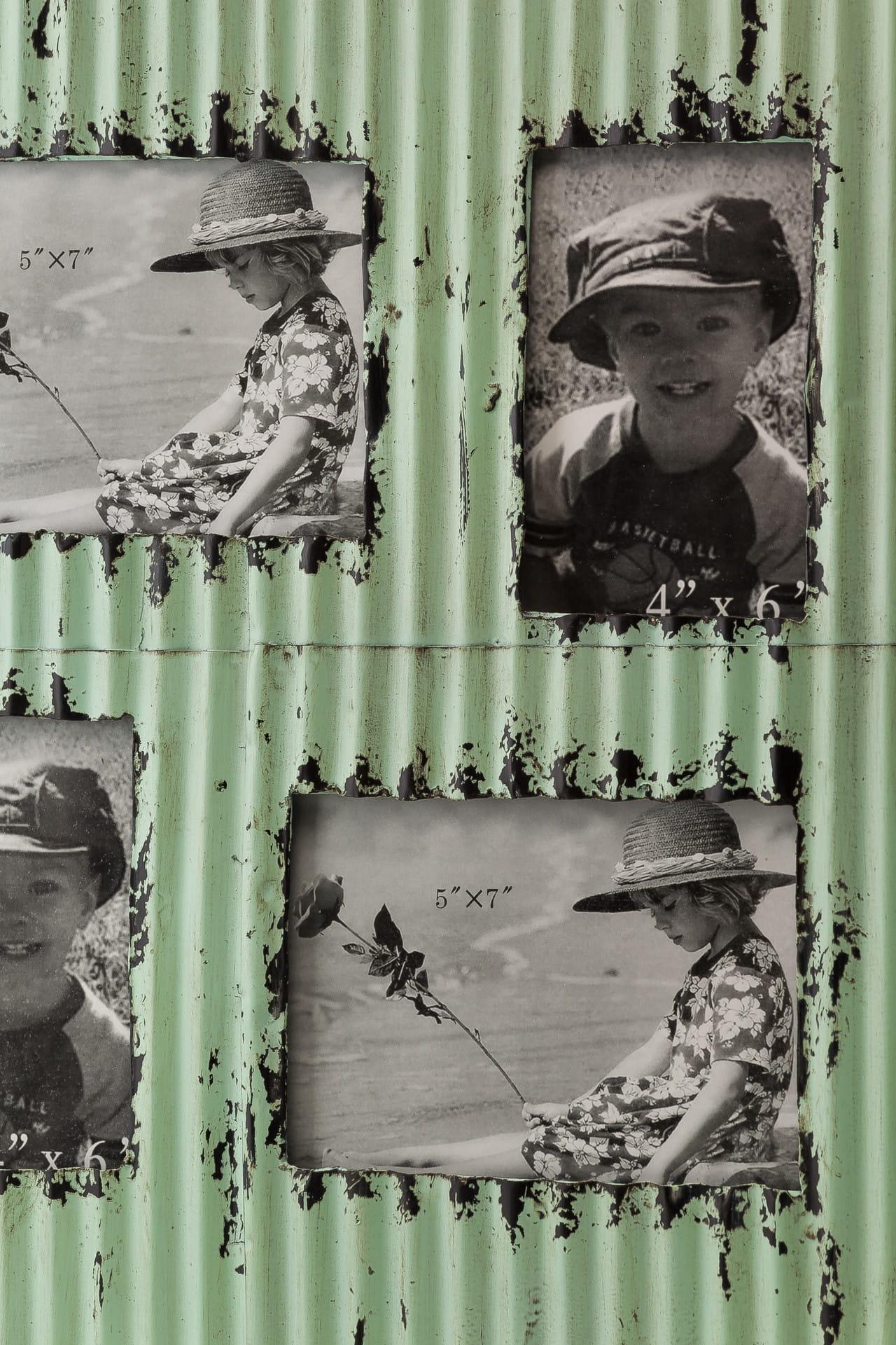 Ramka do zdjęć z metalu ALURO Mazine wysokość 57 cm 24