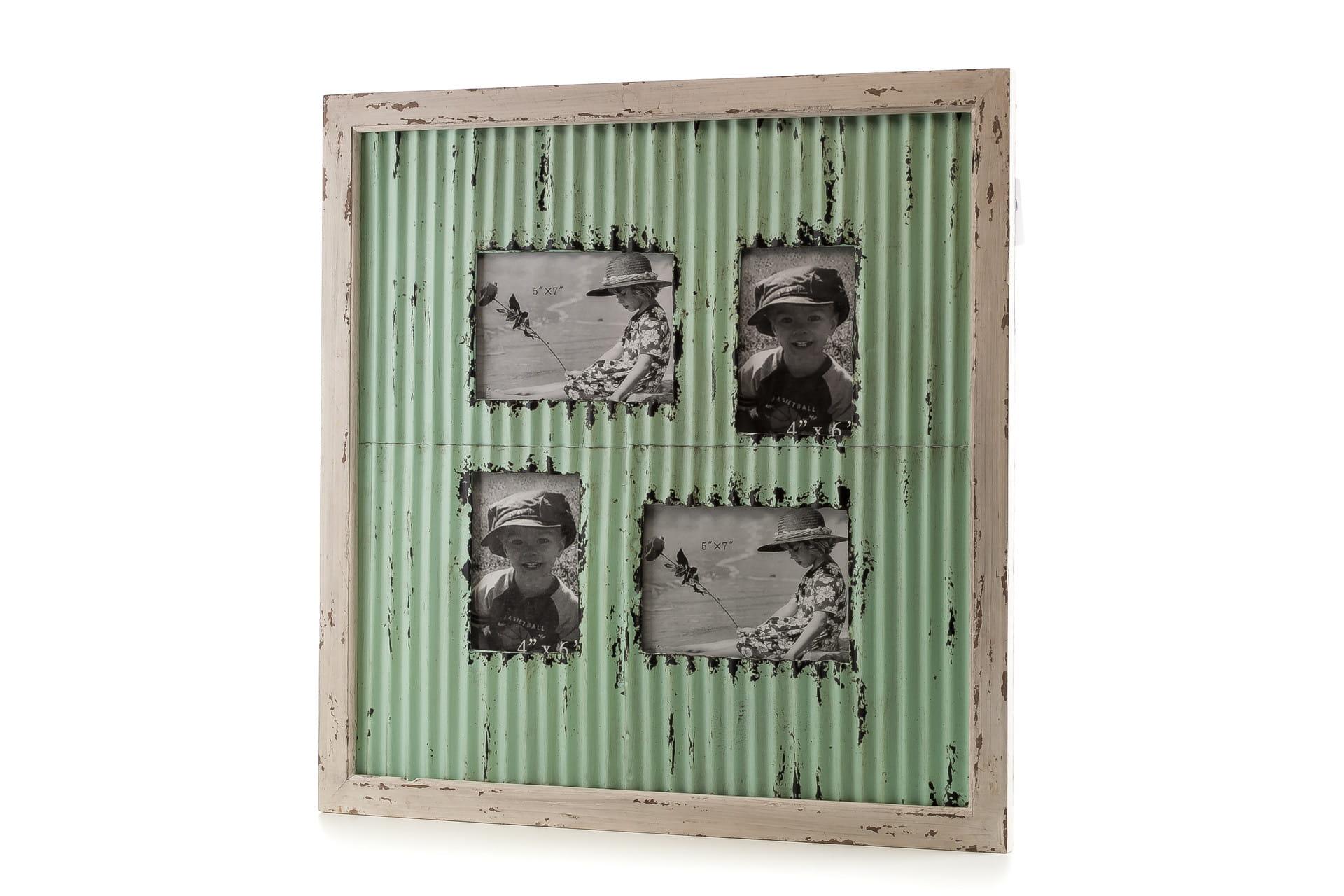 Ramka do zdjęć z metalu ALURO Mazine wysokość 57 cm 23