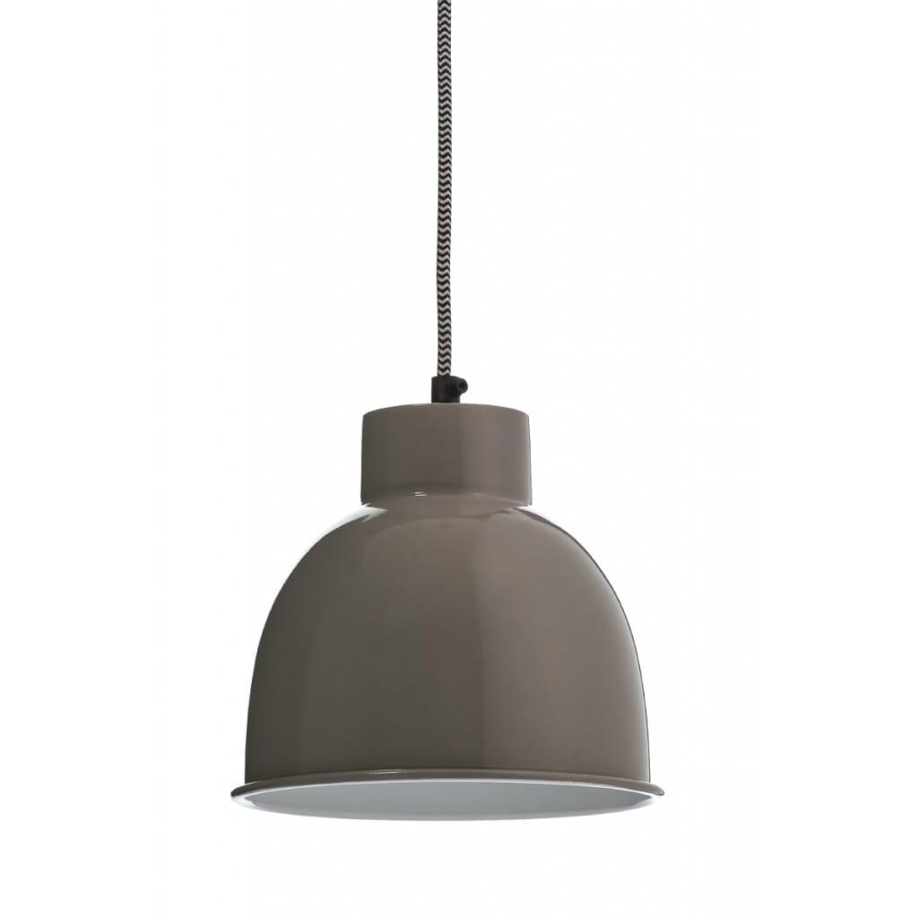 Lampa wisząca NUNO-Gray ALURO wysokość 17 cm 25