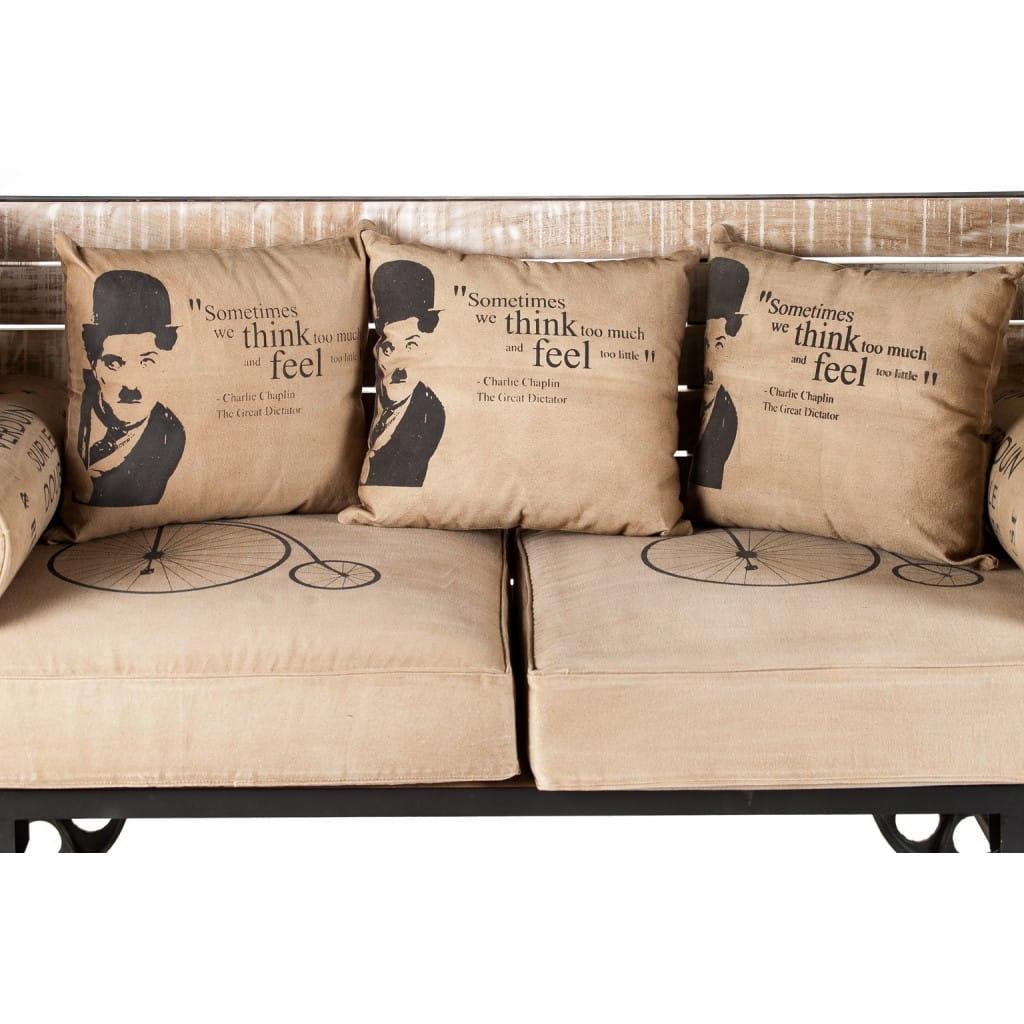 Sofa Charlie Chaplin ALURO MAZINE 25