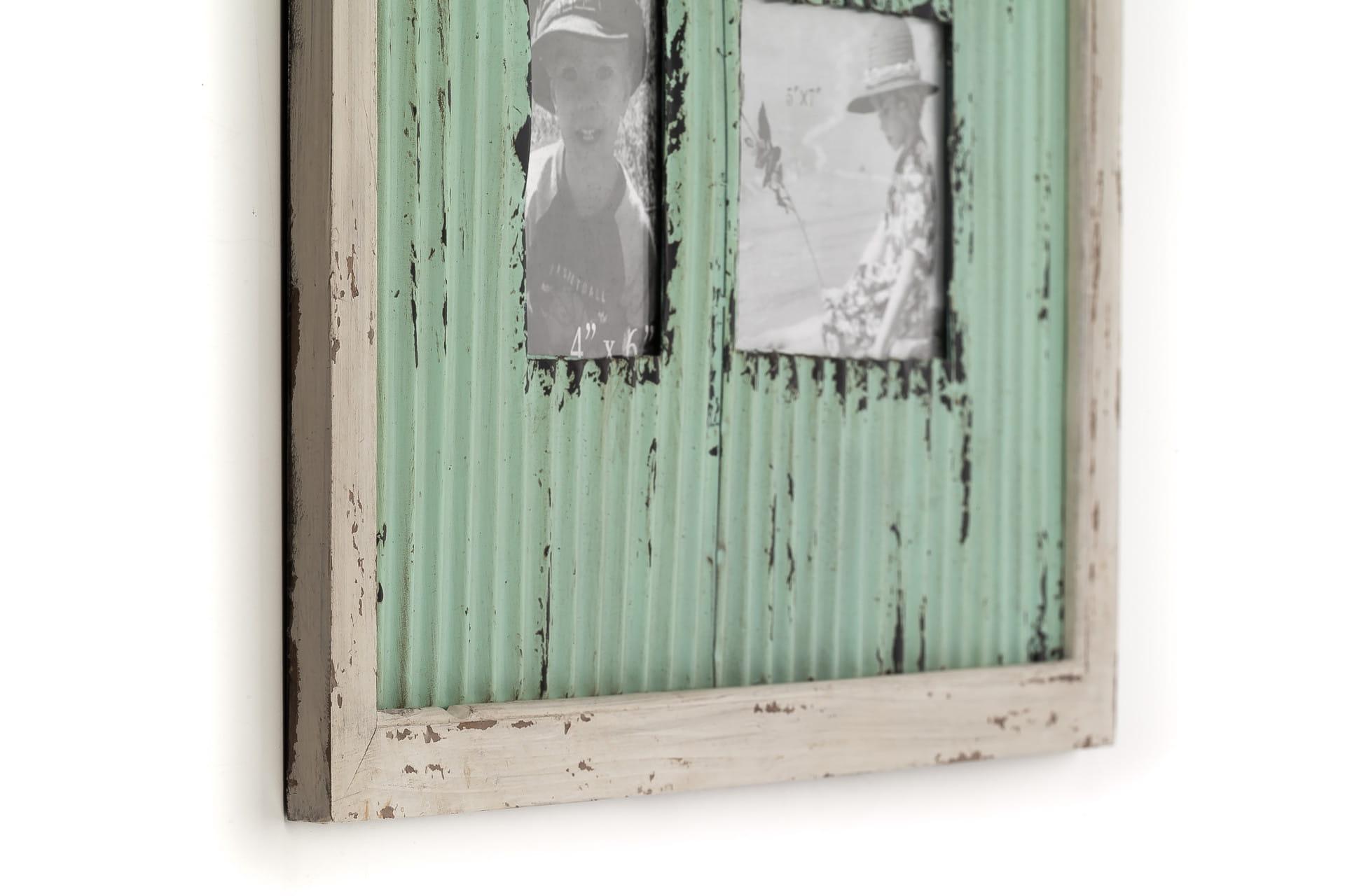 Ramka do zdjęć z metalu ALURO Mazine wysokość 57 cm 26