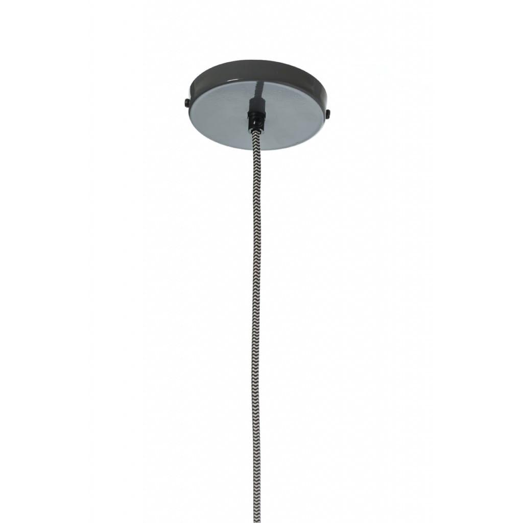 Lampa wisząca NUNO-Graphite ALURO wysokość 22 cm 26