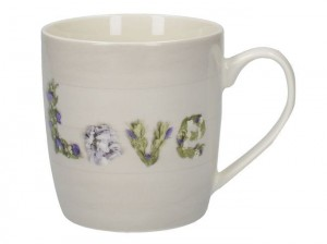 Everyday Home Floral Love kubek 400 ml 8.5x12x9 cm Creative Tops