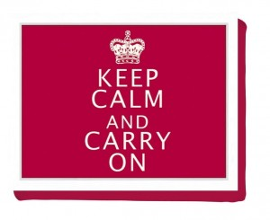 "Taca miękka LAPTRAY ""Keep Calm"" Creative Tops"