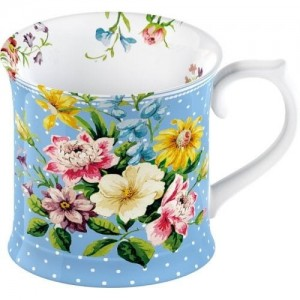 "Porcelanowy kubek 350 ml ""english garden"" Katie Alice 10x9.5x9 cm"