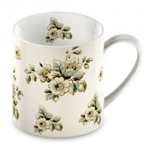 "Kubek 330ml ""cottage flower dinnerware"" Katie Alice"