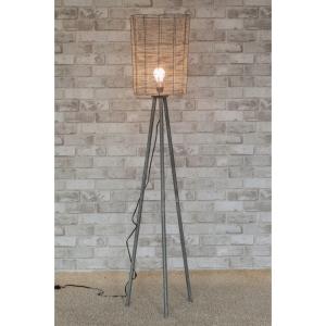 Lampy Stojące Retro Z Abażurem Dekodomania